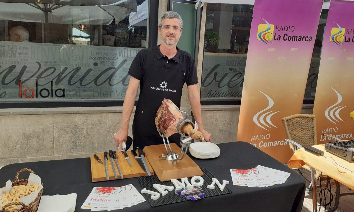 Cortador de Jamón Zaragoza Teruel Iván Martínez